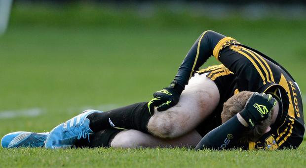 Colm Cooper, Dr. Crokes, after receiving an injury, he was subsequently taken off
