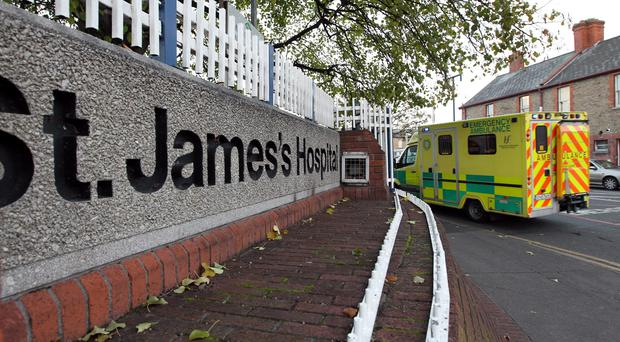 Ms McMahon is being treated at St James's Hospital