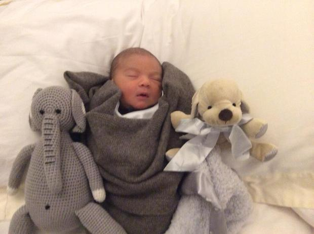 The latest adorable baby Eric snap posted by dad Simon Cowell