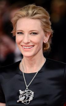 Cate Blanchett attends the EE British Academy Film Awards 2014. (Photo by Karwai Tang/WireImage)