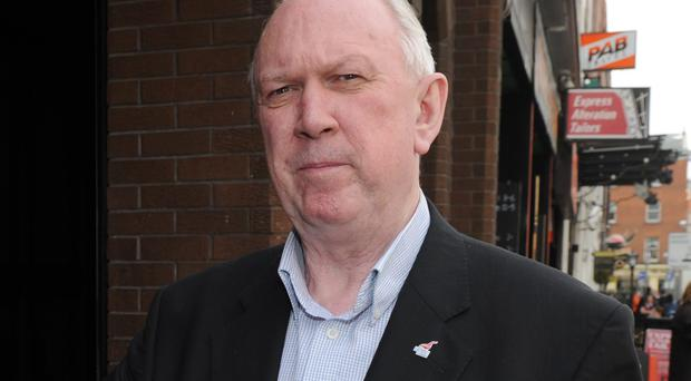 Jimmy Kelly, general secretary of the Unite trade union