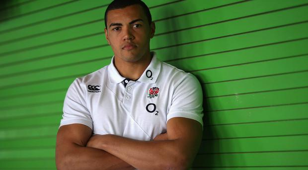 England's Luther Burrell: