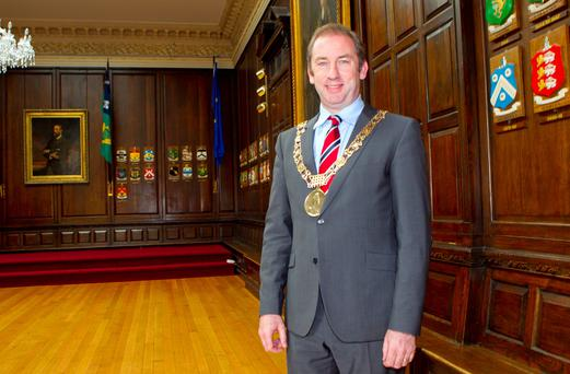 Dublin Lord Mayor Oisin Quinn
