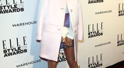 Laura Whitmore attends the Elle Style Awards 2014 at one Embankment
