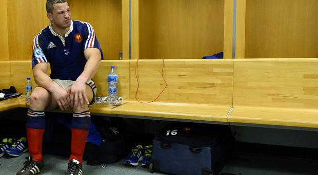 France's flanker Wenceslas Lauret is the only change to the French team to face Wales