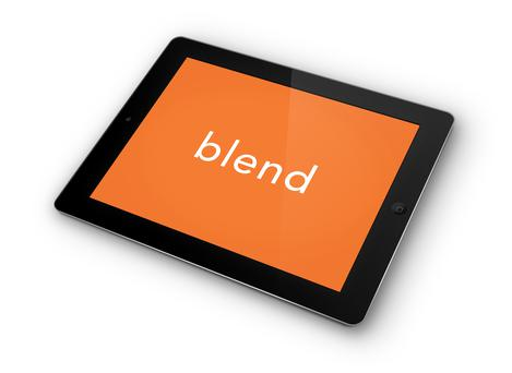 Blend is a spice blending how-to app on iPad