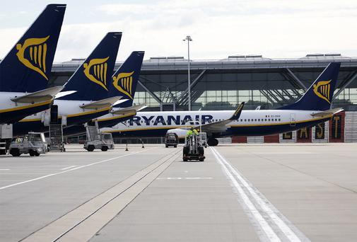 The leaders on the Dublin market included Ryanair, which rose 2.2pc to €7.44.
