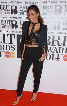 Nicole Scherzinger attends The BRIT Awards 2014