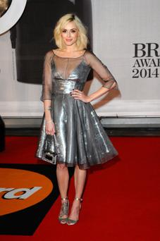 Presenter Fearne Cotton attends The BRIT Awards 2014
