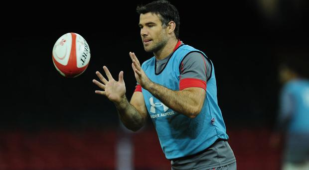Wales' Mike Phillips