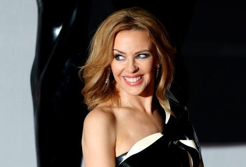 Kylie Minogue. PA