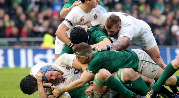 Mike Ford says England must be wary of Ireland's famed 'choke' tackle