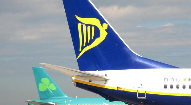 The commission said Ryanair's stake in Aer Lingus had led to a situation where there either is, or could be, a substantial lessening of competition between the two airlines.