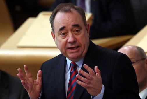 Alex Salmond, leader of the Scottish National Party, and driving force behind the pro-independence movement. PA