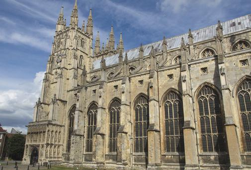 Canterbury Cathedral. Thinkstock Images