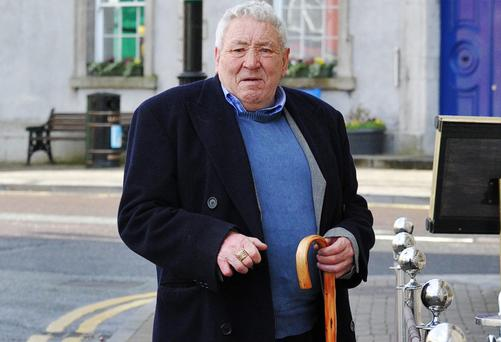 Michael Myles Connors outside Trim Circuit Court. Picture: Ciara Wilkinson.