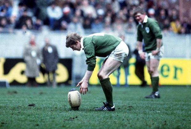Ollie Campbell, who played for Ireland in 1982