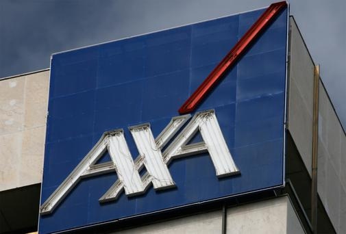 AXA: revenue drop