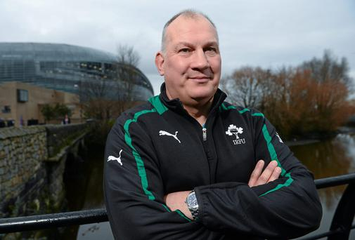 Ireland U20 head coach Mike Ruddock