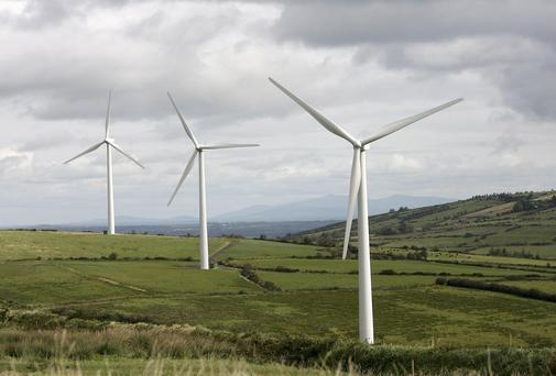 WIND FARMS: Not the answer to Ireland's energy needs but part of the answer. Photo Arthur Ellis/Press22.