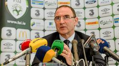 Martin O'Neill: 'The sooner we get to look at the opposition, the better.'