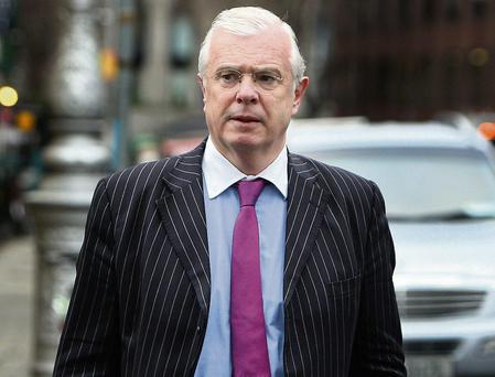Peter Mathews, former Fine Gael deputy for Dublin South