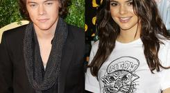 Kendall and Harry dated for three months