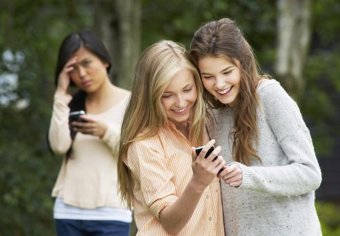 Incidences of cyberbulling increased by a third last year. Picture posed. Thinkstock Images