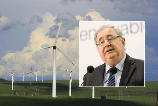 Pat Rabbitte: says renewables are a hedge against dearer oil