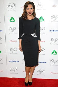Myleene Klass attends the Mothercare VIP Christmas party
