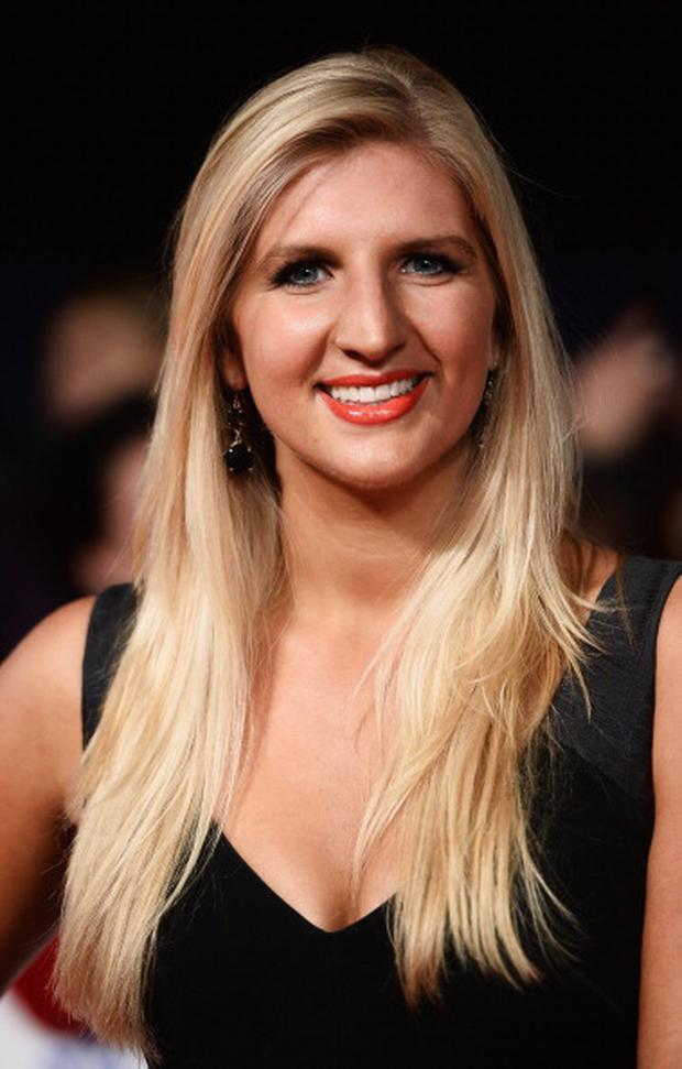 Rebecca Adlington attends the National Television Awards at 02 Arena on January 22, 2014 in London, England. (Photo by Ian Gavan/Getty Images)