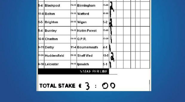 The betting slip