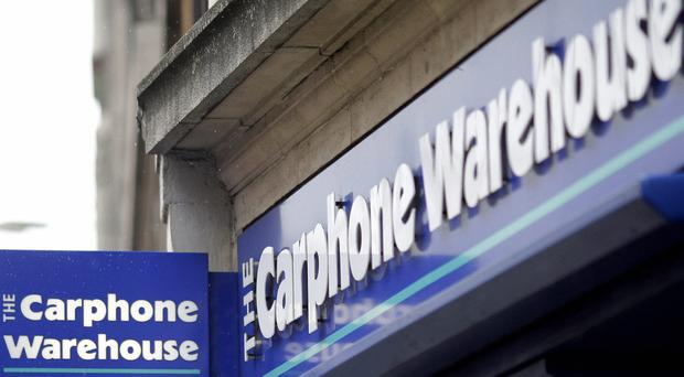 The Carphone Warehouse are in merger talks with Dixons