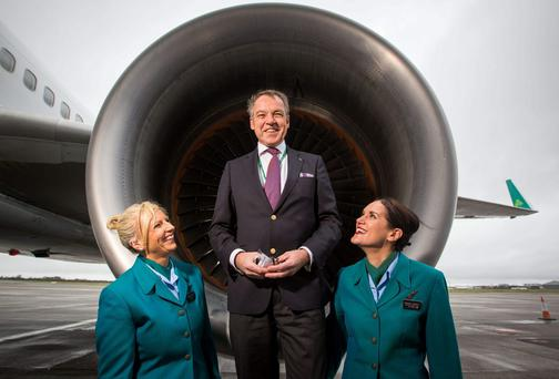 Aer Lingus boss Christoph Mueller announced a plan to save €30m over two years.