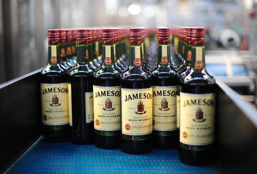 Production At Pernod-Ricard SA's Jameson Irish Whiskey Plant.