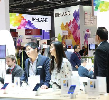 Ireland section at Mobile World Congress