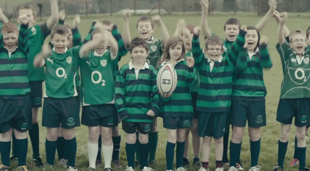 Young Ireland fans all agree that England was the team they wanted to beat