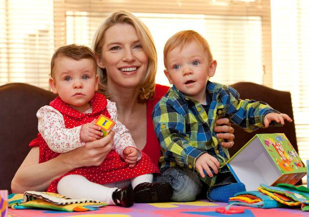 Celebrity mum-of-two Pamela Flood is expecting her third child