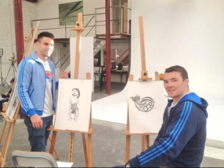 Conor Murray and Peter O'Mahony.