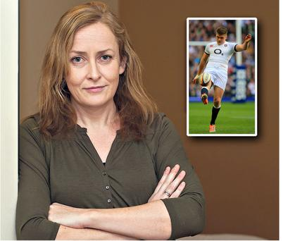 Rose Waldron bought the ticket intended for Owen Farrell (inset)