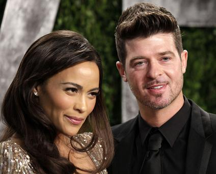 Paula Patton and Robin Thicke announced they are splitting