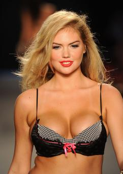 Upton has become one of the most in demand supermodels