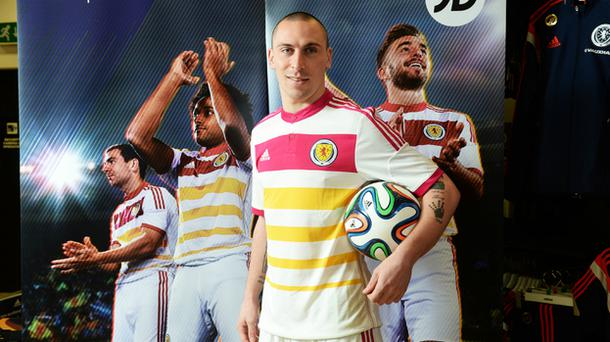 Scott Brown in the new kit