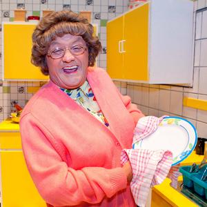 HIT: The quintessential Irish mammy, Mrs Brown, as portrayed by Brendan O'Carroll