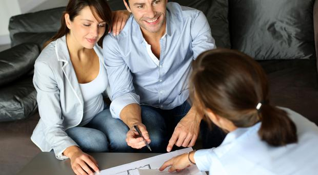 Bank boosts family home market with new deal on trackers. Picture posed by models. Thinkstock