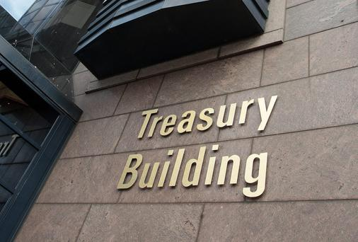 The Treasury Building on Grand Canal Street Lower where NAMA is based. Picture: Tom Burke