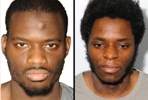Michael Adebolajo (left) and Michael Adebowale