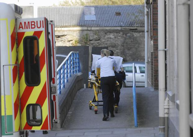 Gardai and medical staff at the hospital were very concerned about the health and welfare of the woman