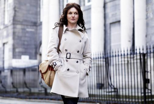Birthright: Dervla Kirwan in Dublin in 2010 where she traced her roots for the BBC documentary Who Do You Think You Are