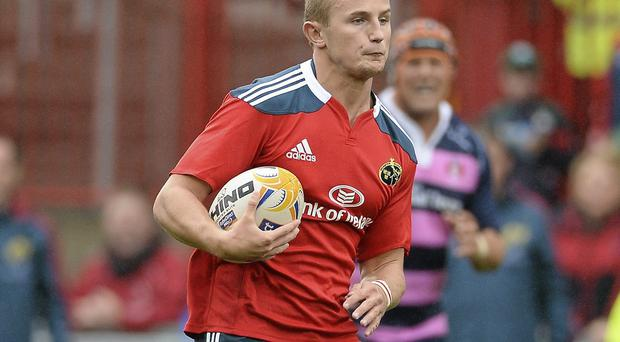 Cian Bohane has made his childhood dreams come true by playing for Munster